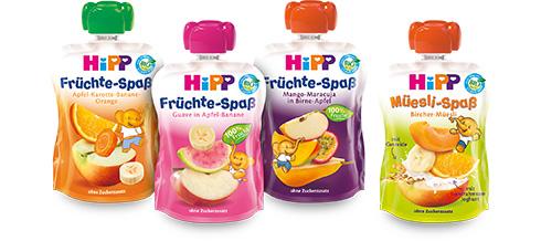 Hipp Früchte Spaß Sport
